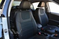 Чехлы в салон Фольксваген Джетта 6 (чехлы на Volkswagen Jetta 6)