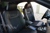 Чехлы в салон Фольксваген Туарег 2 (чехлы на Volkswagen Touareg II TDI)