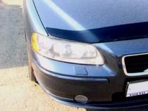 Дефлектор капота Вольво S60 1 (мухобойка Volvo S60 1)