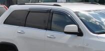 Ветровики Джип Гранд Чероки 4 (дефлекторы окон Jeep Grand Cherokee 4)