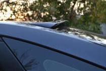 Фирменный спойлер на стекло Ford Focus 2 седан (спойлер на Форд