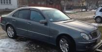 заказать Ветровики для Mercedes E-Class W211 (дефлекторы окон)