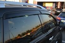 Ветровики на авто Митсубиси Аутлендер ХЛ (дефлекторы окон Mitsub