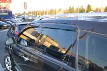 заказать Ветровики Mitsubishi Outlander Xl (дефлекторы окон Митс