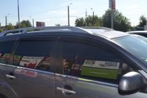 Ветровики на авто Mitsubishi Outlander Xl (дефлекторы окон Митсу