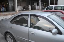 Ветровики Ниссан Альмера Классик (дефлекторы окон Nissan Almera Classic N17)