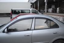 купить Ветровики Ниссан Альмера Классик (дефлекторы окон Nissan