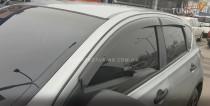 дефлекторы окон Nissan Qashqai 1