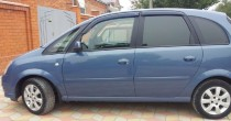 Ветровики Опель Мерива А (дефлекторы окон Opel Meriva A)
