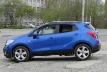 Ветровики Опель Мокка (дефлекторы окон Opel Mokka)