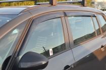 Ветровики Опель Зафира С (дефлекторы окон Opel Zafira C)