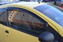 Ветровики Пежо 107 (дефлекторы окон Peugeot 107)