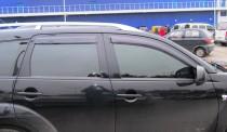 Ветровики Пежо 4007 (дефлекторы окон Peugeot 4007)