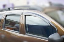 Ветровики Рено Дастер (дефлекторы окон Renault Duster)
