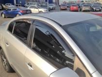 Ветровики Рено Флюенс (дефлекторы окон Renault Fluence)