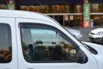 Ветровики Рено Кенго 1 (дефлекторы окон Renault Kangoo 1)
