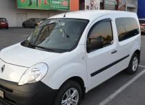 заказать Ветровики Рено Кенго 2 (дефлекторы окон Renault Kangoo