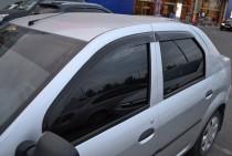 купить Ветровики Рено Логан 1 (дефлекторы окон Renault Logan 1)