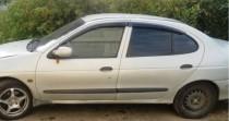 Ветровики Рено Меган 1 седан (дефлекторы окон Renault Megane 1 sedan)