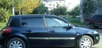 Ветровики Рено Меган 2 хэтчбек (дефлекторы окон Renault Megane 2 Hb)