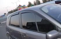 Ветровики Renault Scenic 2 (дефлекторы окон )
