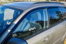 Ветровики Субару Аутбек 3 (дефлекторы окон Subaru Outback 3)