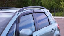 Ветровики Сузуки СХ4 1 хэтчбек (дефлекторы окон Suzuki SX4 1 hb)