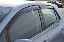 Ветровики Тойота Аурис 1 (дефлекторы окон Toyota Auris 1)