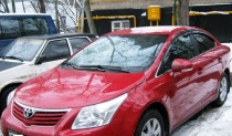 Ветровики Тойота Авенсис 3 (дефлекторы окон Toyota Avensis 3)