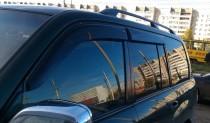 Ветровики Тойота Ленд Крузер 100 (дефлекторы окон Toyota Land Cruiser 100)
