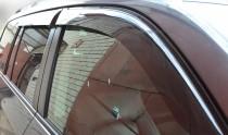 Ветровики Тойота Toyota Land Cruiser Prado 120 (дефлекторы окон