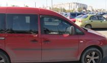 купить Ветровики Фольксваген Кадди 3 (дефлекторы окон Volkswagen