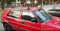 Ветровики Фольксваген Гольф 3 (дефлекторы окон Volkswagen Golf 3)