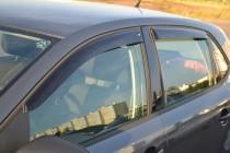 Ветровики Фольксваген Поло 5 хэтчбек (дефлекторы окон Volkswagen Polo 5 hb)