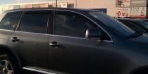 Ветровики Фольксваген Туарег 2 (дефлекторы окон Volkswagen Touareg 2)