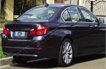 Хромированная кромка багажника БМВ 5 Ф10 (хром нижняя кромка крышки багажника BMW 5 F10)