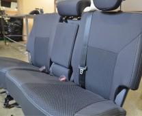 Чехлы для салона Хендай Санта Фе 3 (купить авточехлы на сиденья