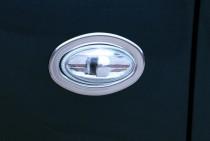 Хром накладки на повторители поворотов Ситроен С1 (хромированная окантовка повторителей Citroen C1)