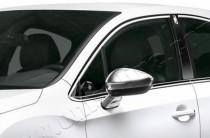 Хром накладки на зеркала Ситроен DS3 (хромированные накладки на боковые зеркала Citroen DS3)