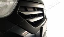 Хром накладки на решетку радиатора Рено Докер (хромированные накладки на решетку радиатора Renault Dokker)