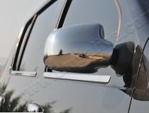 Хром накладки на зеркала Рено Дастер (хромированные накладки на боковые зеркала Renault Duster)