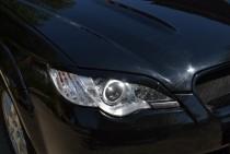 Реснички на фары Субару Аутбек 3 BP (реснички для Subaru Outback 3)