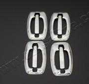Хром накладки на ручки Фиат Дукато 3 (хромированные накладки на дверные ручки Fiat Ducato 3)