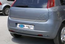 Хромированная кромка багажника Фиат Гранде Пунто (хром нижняя кромка крышки багажника Fiat Grande Punto)