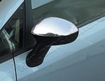 Хром накладки на зеркала Фиат Гранде Пунто (хромированные накладки на боковые зеркала Fiat Grande Punto)