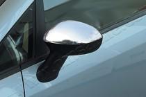 Хром накладки на зеркала Фиат Линеа (хромированные накладки на боковые зеркала Fiat Linea)