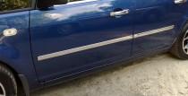 Хромированные молдинги дверей Форд С-Макс 1 (хром накладки на двери Ford C-Max 1)