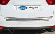 Хромированная кромка багажника Форд С-Макс 2 (хром нижняя кромка крышки багажника Ford C-Max 2)