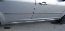 Omsa Line Хромированные молдинги дверей Форд Фокус 2 (хром накладки на двери Ford Focus 2)
