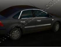 Omsa Line Хромированные молдинги стекол Ford Focus 2 (хром верхние молдинги стекол Форд Фокус 2)